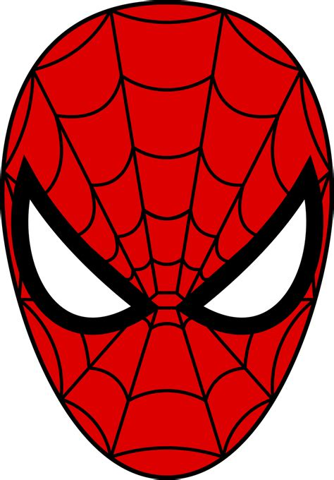 spiderman face template cliparts co
