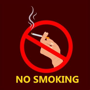 poster design on no smoking free vector graphic art free photos free icons free