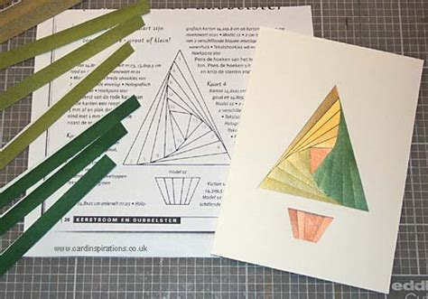 folded tree card template an introduction to iris folding at card inspirations