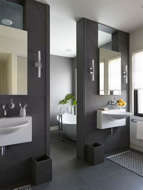 charcoal gray bathroom color of the month decorating with charcoal gray abode