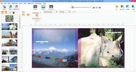 photo book layout software blurb photo book a creative way to preserve travel