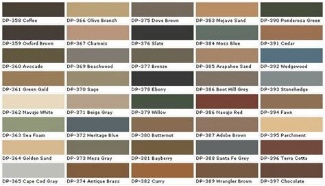 neutral tone paint sle colors chart 6 for the home