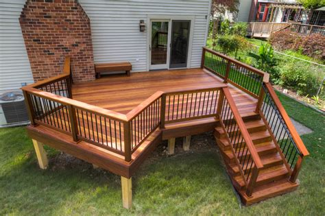 Patio Decks Designs Pictures Cumaru Deck Installation In Swarthmore Pa Stump S Decks Porches