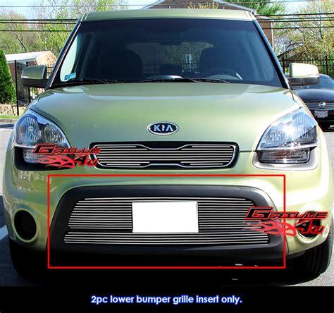 Kia Soul Front Bumper by New Fit Kia Soul Lower Bumper Billet Grille Inserts 2012
