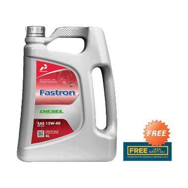 Oli Pertamina Diesel Jual Pertamina 15w 40 Fastron Diesel Oli 4 Liter