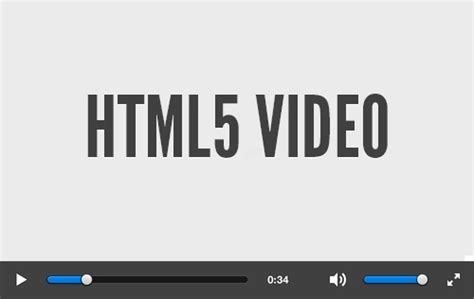 video file format in html5 digging into html5 video