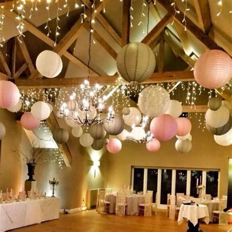 20cm 15Pcs/lot Chinese paper lantern, round lamp, Wedding