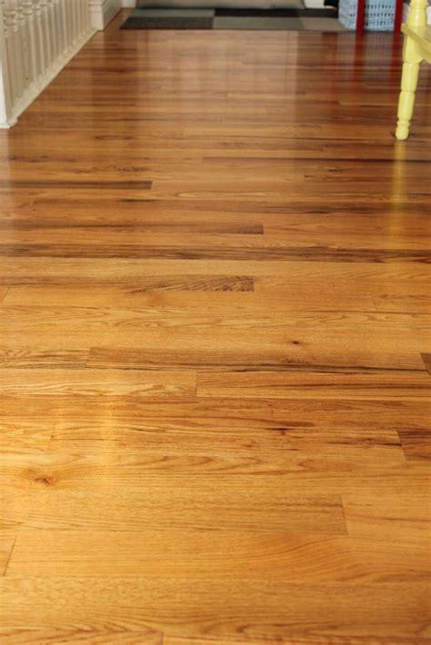 diy wood floor cleaner beware possible slipperiness