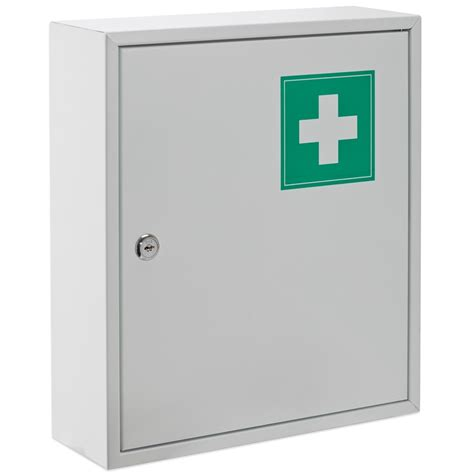 wall mounted first aid box buy online sandleford 310 x 360 x 100mm first aid box bunnings