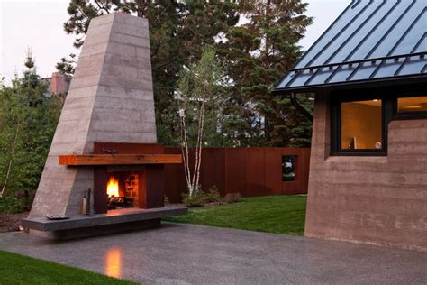 outdoor modern fireplace 24 outdoor fireplace designs ideas design trends
