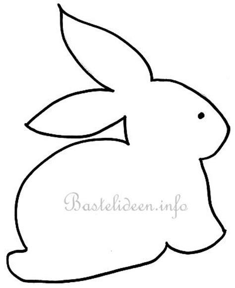 Kostenlose Vorlage Hase Bastelideen Zu Ostern Kostenlose Bastelvorlage Osterhaeschen Ostern