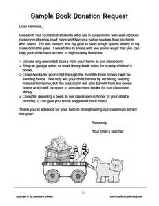 Parent Donation Letter Ask And You Shall Receive 2 Help