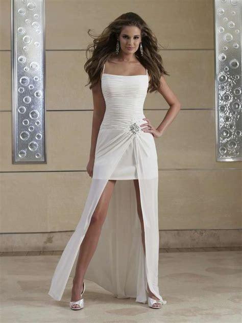 stunning casual short beach wedding dresses sang maestro