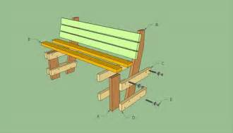 Wooden Park Bench Plans Free by Diy Wood Pallet Bench 99 Pallets