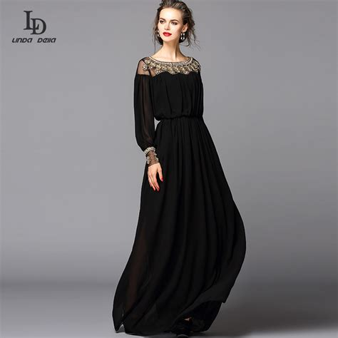Luxury Black Dress Dress Black Picture More Detailed Picture About