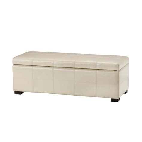 oversized storage bench safavieh isaac wooden storage bench in oak amh6530e the