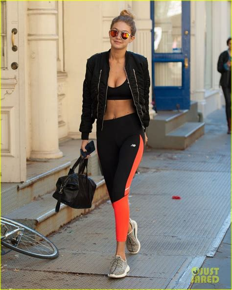 gigi hadid gym gigi hadid sport style pinterest nyc the o jays and