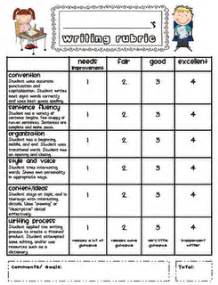 writing rubrics on pinterest kindergarten writing