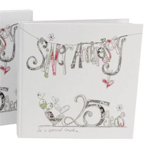 Wedding Anniversary Experiences by Silver Wedding Anniversary Scrapbook The Gift Experience