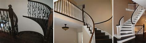 Refinish Banister Railing by Specialized Hardwood Stairs And Railings Services