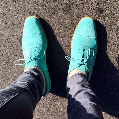 mint suede s wingtips mensfash