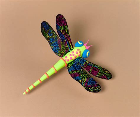 dragonfly paper craft dazzling dragonfly wings craft crayola