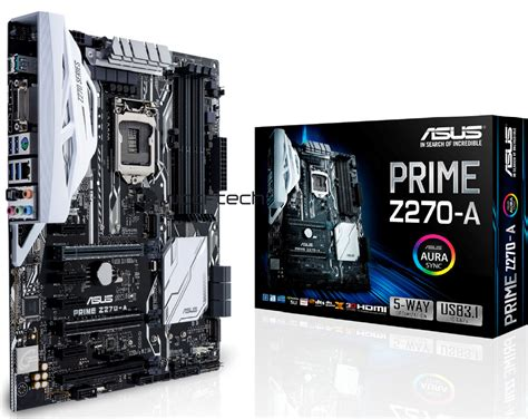 Asus Lga1151 Prime B250 Pro Mainboard Motherboard asus kaby lake motherboards updated tech news and