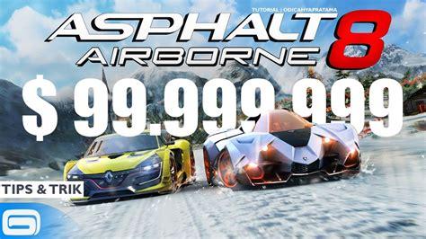 cara mod game asphalt 8 cara cheat uang 99 999 999 di game asphalt 8 dengan