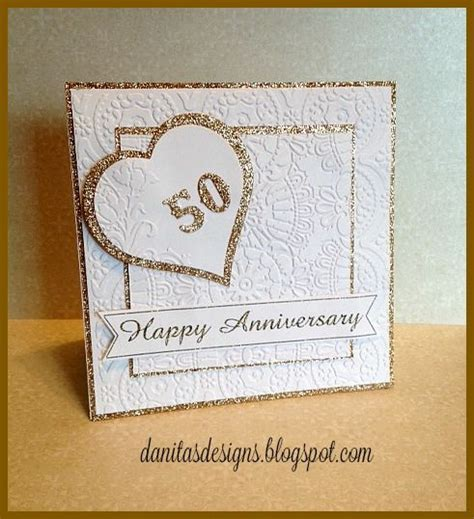 50th Wedding Anniversary Card Shower Ideas by 1000 Ideas About 50th Anniversary Cards On