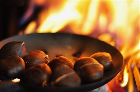 Roasting Chestnuts In Fireplace by Chestnuts Roasting On An Open It S A Wonderful