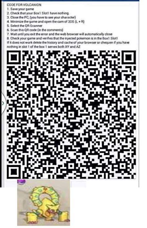 Qr Code Shiny Pokemon Volcanion | pokemon shiny hoopa qr code images pokemon images
