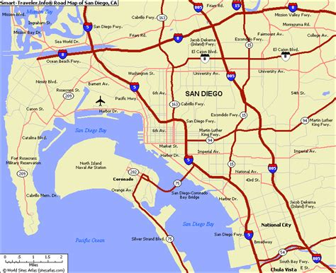 map of san diego ca map of san diego california vacations travel map