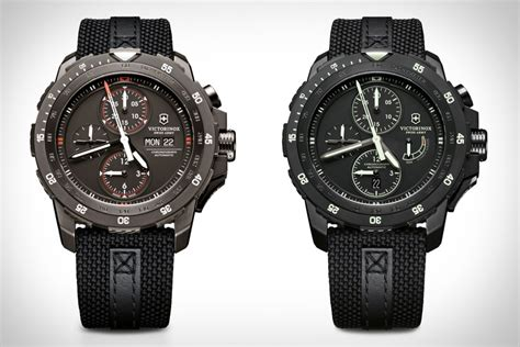 Swiss Army 1128 Black List Grey victorinox swiss army alpnach watches uncrate