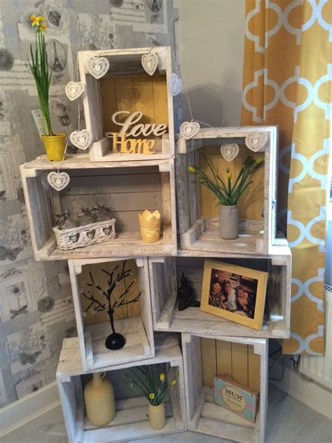 crates for shelves best 25 crate shelves ideas on crates wooden