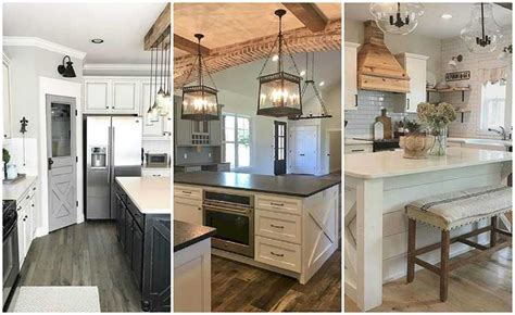 farmhouse kitchens ideas 20 farmhouse kitchen ideas for fixer style industrial flare