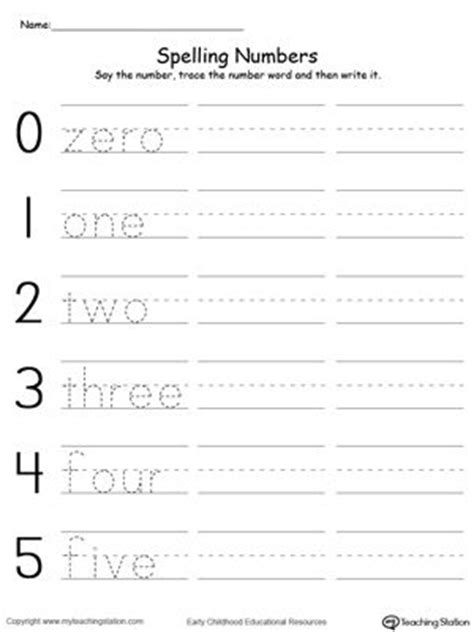 Number Story Worksheets For Grade by Best 25 Number Words Ideas On Kindergarten