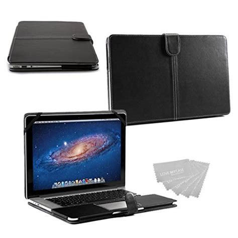 Macbook Pro 15 Inch Premium Leather Skins get my black smart premium pu leather sleeve cover for apple macbook pro with