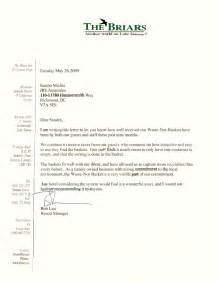 Commitment Letter To Manager Testimonials Hotels Resorts