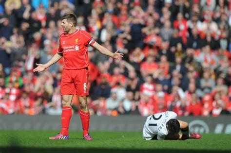 manchester united vs liverpool 3 1 fantastic match hd 12 gerrard had go go five things we ve learned liverpool echo