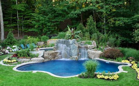 15 Pool Landscape Design Ideas Home Design Lover Backyard Swimming Pool Landscaping Ideas