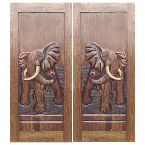 oversize front door double exterior door  elephant