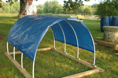 How To Build A Tarp Shed by Green Legacy Farm Moooovin Along Portable Calf Shelter