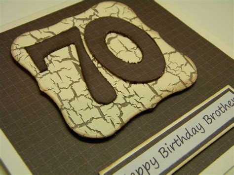 Handmade Birthday Cards For Guys - men s 70th birthday cards the handmade card