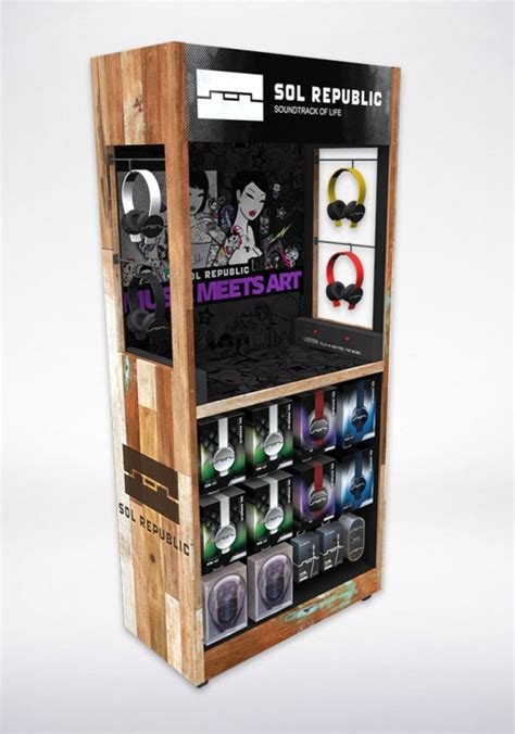 1000 ideas about product display stands on headphones displays product stand design san diego studio simic