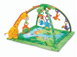 fisher price rainforest melodies and lights deluxe