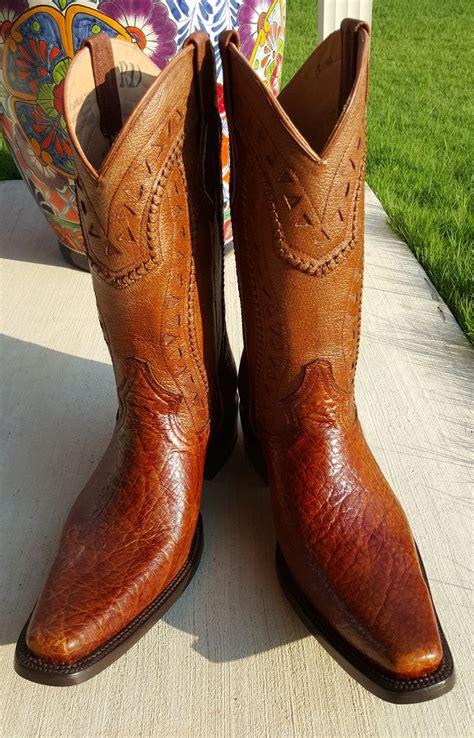 elephant skin boots western cowboy elephant skin boots boot heaven
