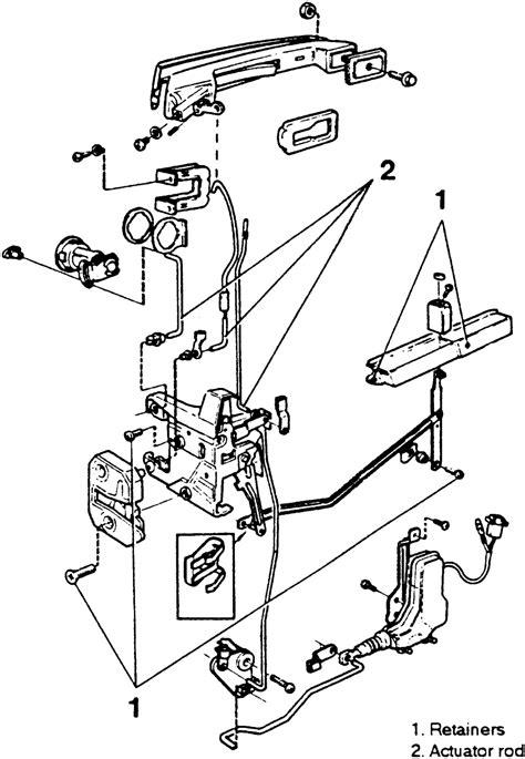 repair guides interior door locks autozonecom