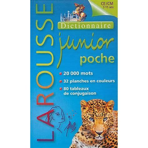 Dictionnaire Larousse Junior Poche 7 11 Ans Ce Cm