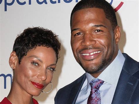 what kind of haircut does michael strahan have nicole murphy michael strahan wife hairstylegalleries com