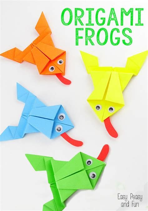 17 Best Ideas About Origami Frog On Easy - 17 best ideas about origami on easy